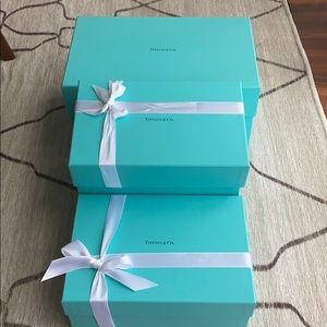 Tiffany & co cardboard boxes